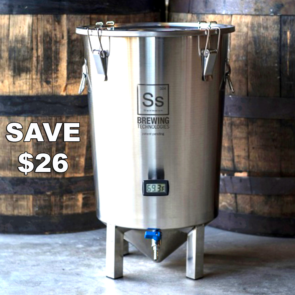 Homebrew Promo Code for Save $26 On A Stainless Steel Home Brewing Fermenter + Free Shipping Promo Codes