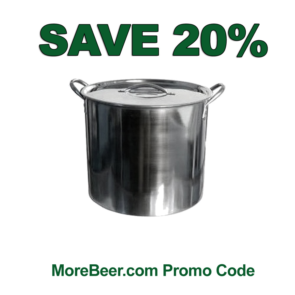 Homebrew Sale for Save 20% On A Stainless Steel 5 Gallon Homebrewing Kettle Sale