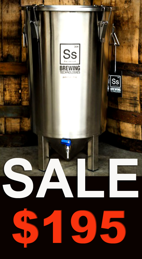 MoreBeer Stainless Steel Homebrewing Fermenter Sale Coupon Code