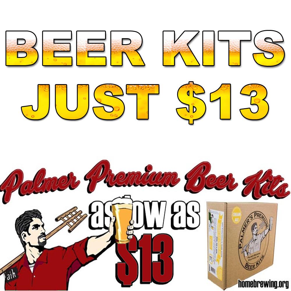Homebrew Sale for Get John Palmer Home Brewing Beer Kits For $13 Sale