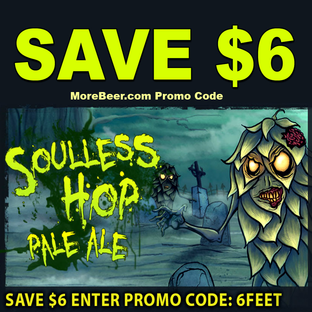 Home Brewer Promo Code for Save $6 On Each Zombie Dust Clone Beer Kit Coupon Code