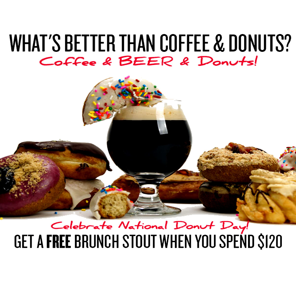 Home Brewer Promo Code for Get A Free Brunch Stout Beer Kit with Orders Over $120 Coupon Code