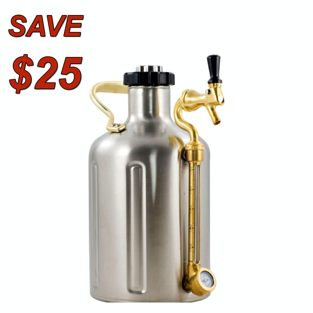 Homebrew Promo Code for Save $25 on a uKeg Large Stainless Steel Pressurized Growler Keg Promo Codes