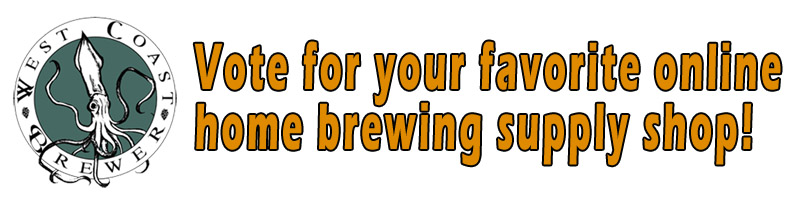 Vote for your favorite online home brewing supply shop!