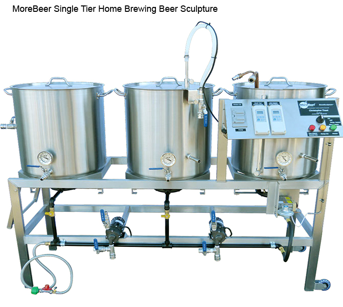 Single Tier Home Brewing Sculpture