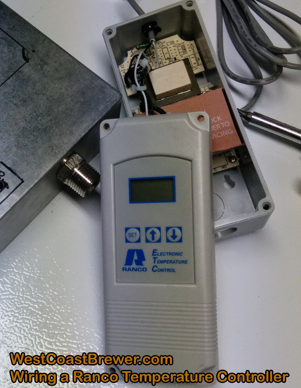 How to wire a Ranco digital temperature controller – 120v  #714927
