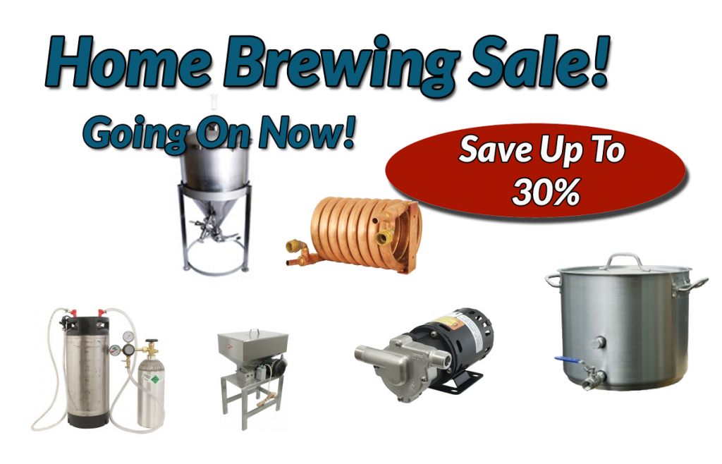 Home Brewing Sale