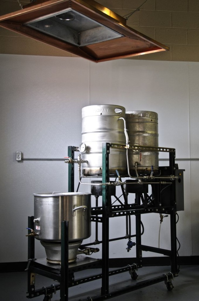 Home Beer Brewing Setup