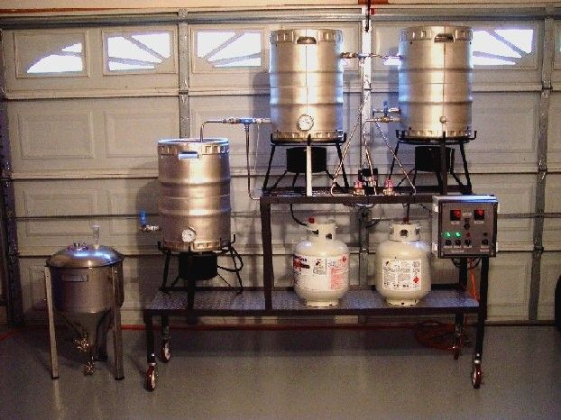 home brewing setup - Home Brewery Design