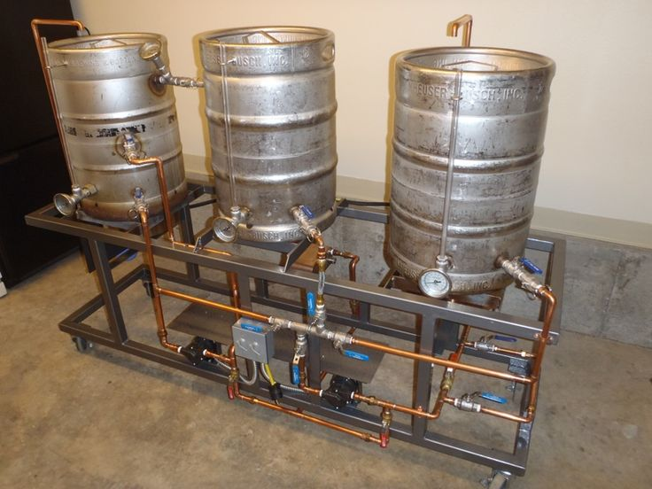 Home Brewing Stands And Brewery Rig Images