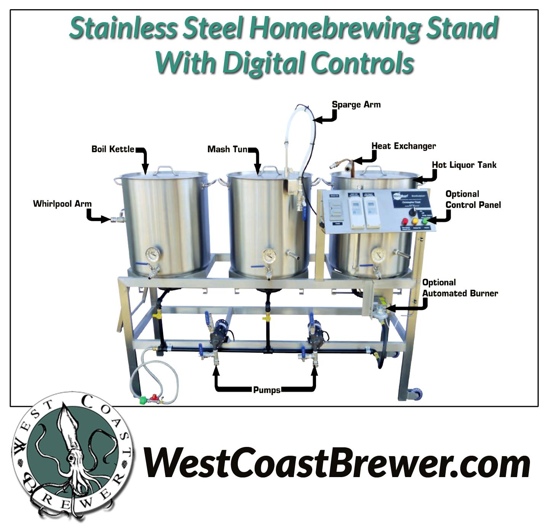 Stainless Steel Homebrewing Rig Sale Brewers Blog
