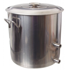 8.5 gallon stainless home brewing kettle