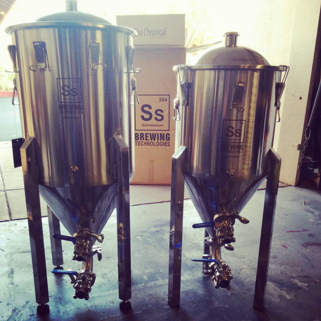 Stainless Steel Conical Homebrewing Fermenters