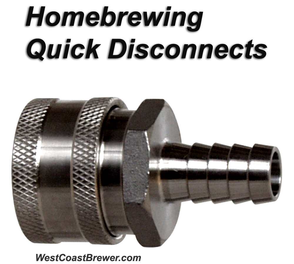 Home Brewing Quick Disconnect