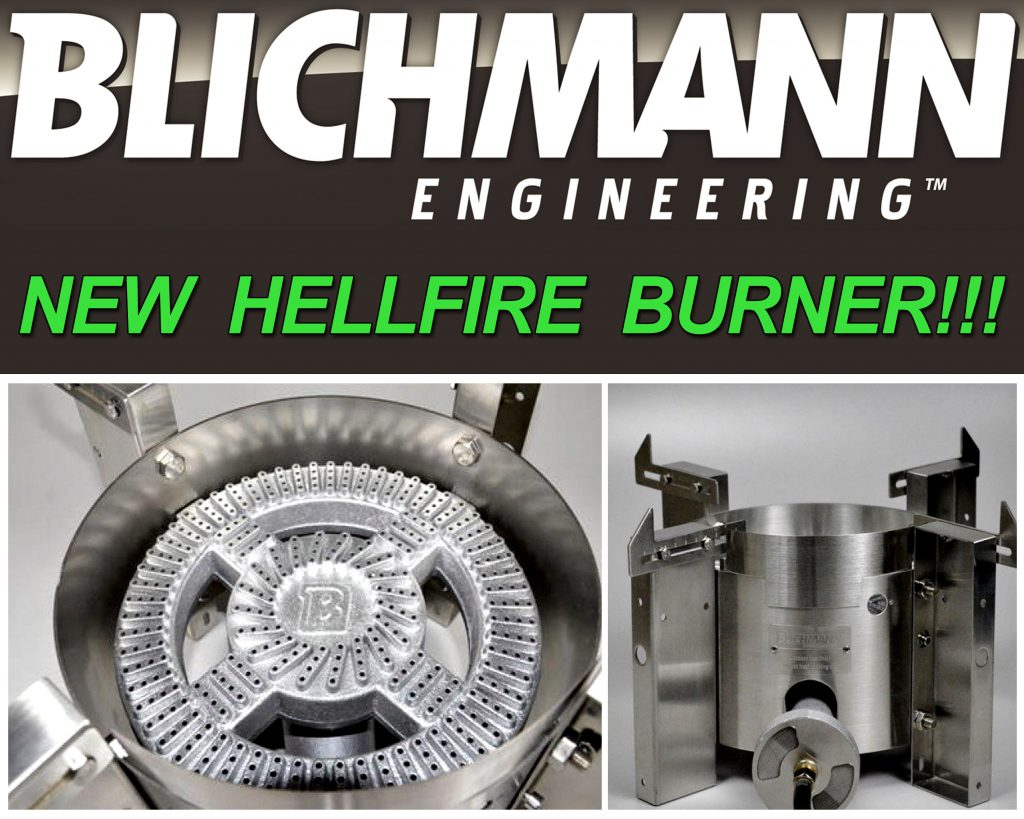 Blichmann Hellfire Homebrewing Burner