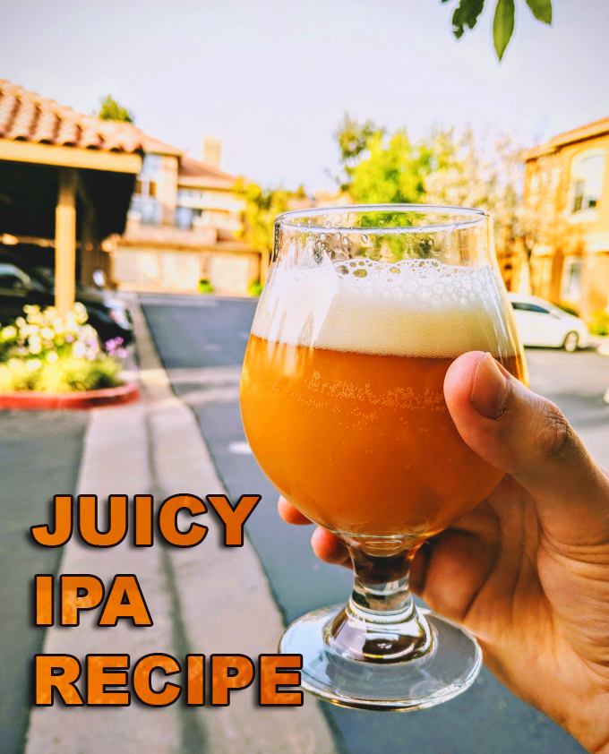 Juicy IPA Recipe #juicy #ipa #recipe #homebrew #homebrewing #home #brewing