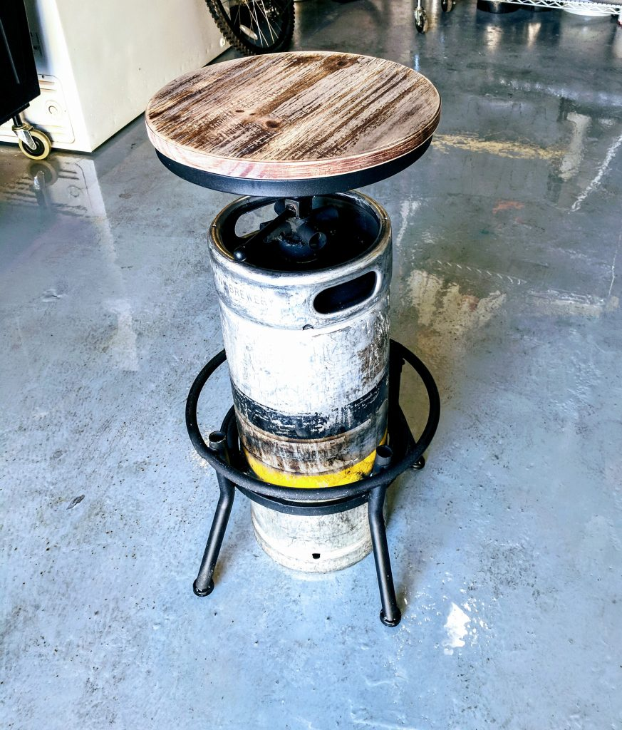 Home Brewing Keg Chair