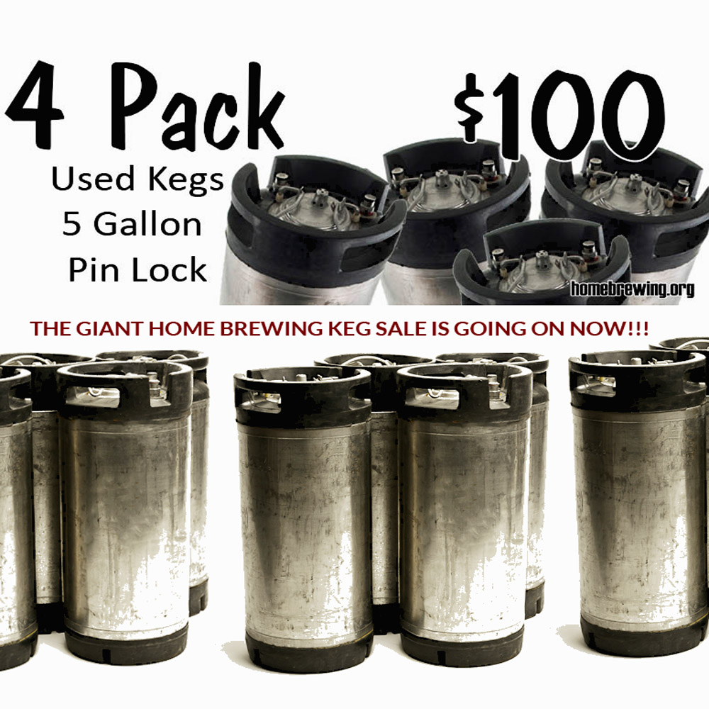 Sale For Get 4 Kegs for Just $99! Sale
