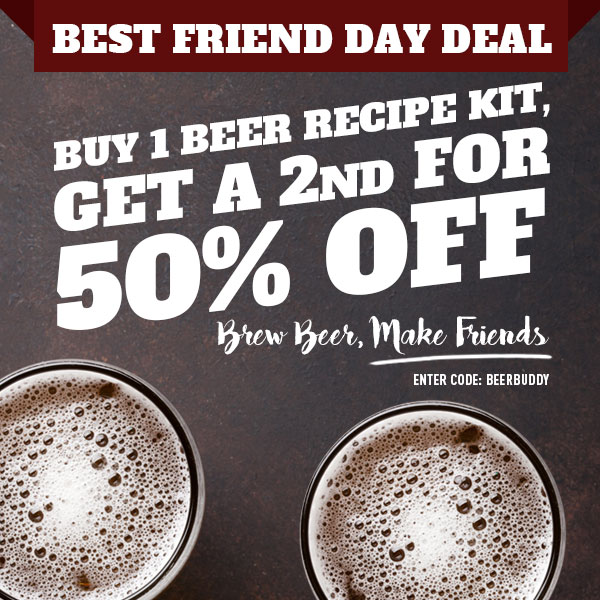 Coupon Code For BUY A NORTHERN BREWER BEER KIT AND GET A SECOND HALF OFF Coupon Code