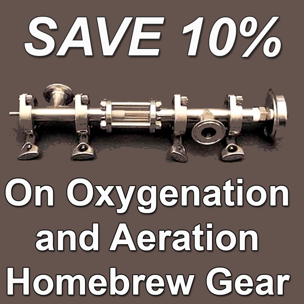 Coupon Code For Save 10% On Select Oxygenation and Aeration Home Brewing Products Coupon Code