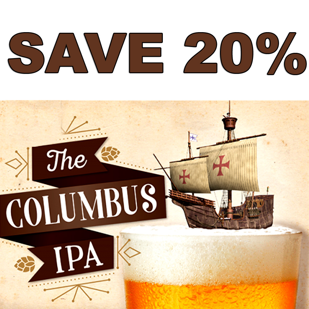 Coupon Code For Get a MoreBeer.com Columbus IPA Beer Kit for Just $27 Coupon Code