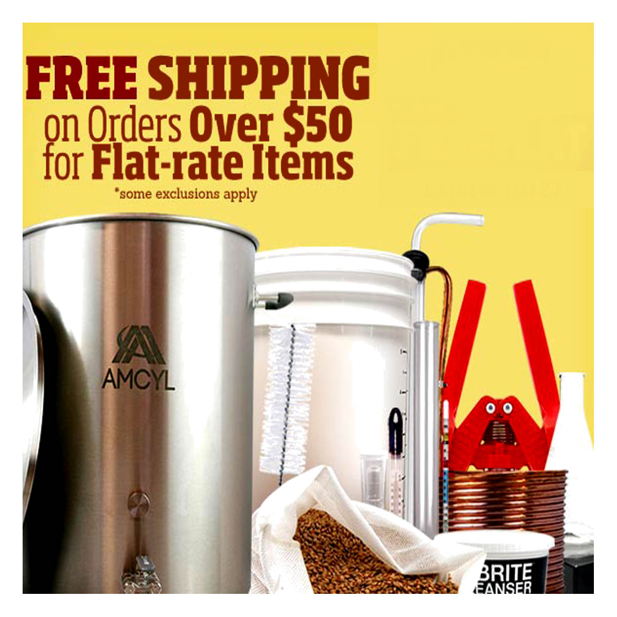 Coupon Code For Free Shipping Promo Code for HomebrewSupply.com Coupon Code