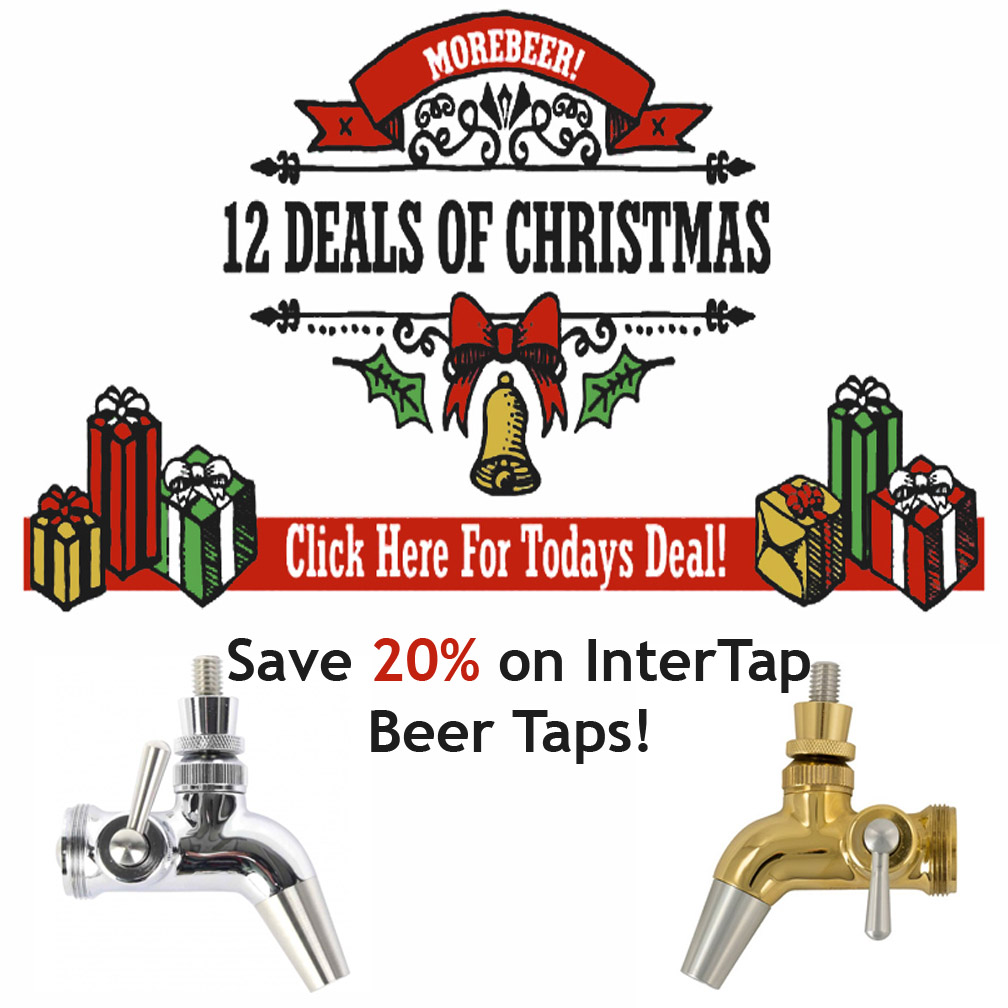 Coupon Code For Save 20% on Intertap Beer Tap Faucets Coupon Code