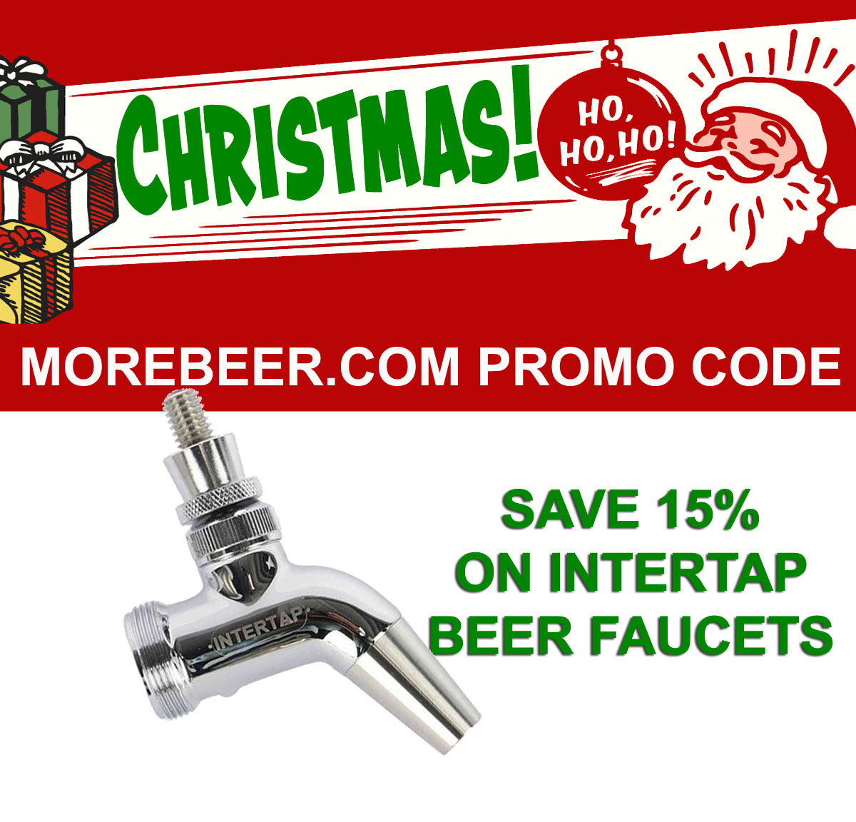 Coupon Code For Save 15% On Intertap Draft Beer Items Including Faucets Coupon Code