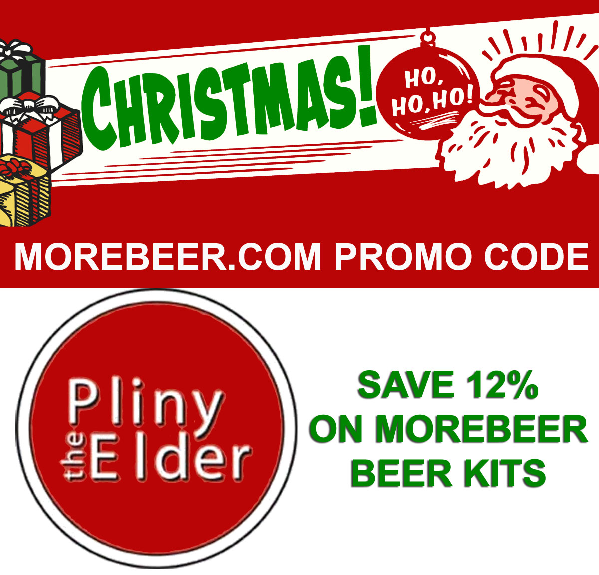 Coupon Code For Save 12% On All MoreMore.com Home Brewing Beer Recipe Kits Coupon Code