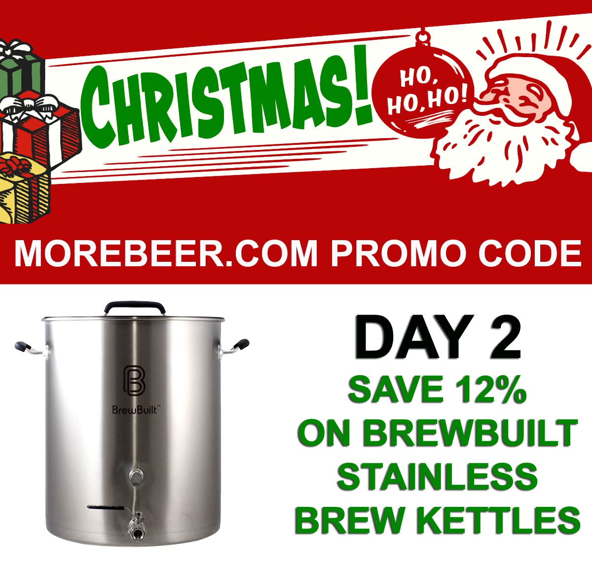 Coupon Code For Save 12% On Brew Built Home Brewing Kettles Coupon Code