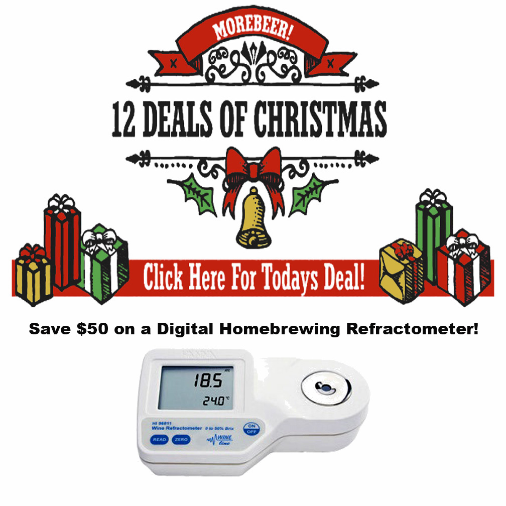 Coupon Code For Save $50 on a Digital Homebrewing Refractometer Coupon Code