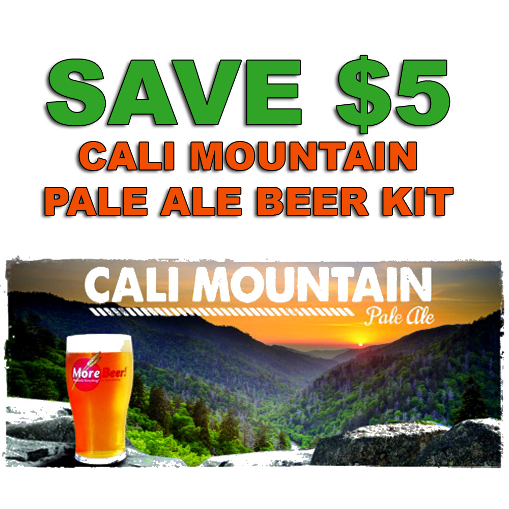 Coupon Code For Save $5 On A Cali Mountain Pale Ale Home Brewing Kit Coupon Code