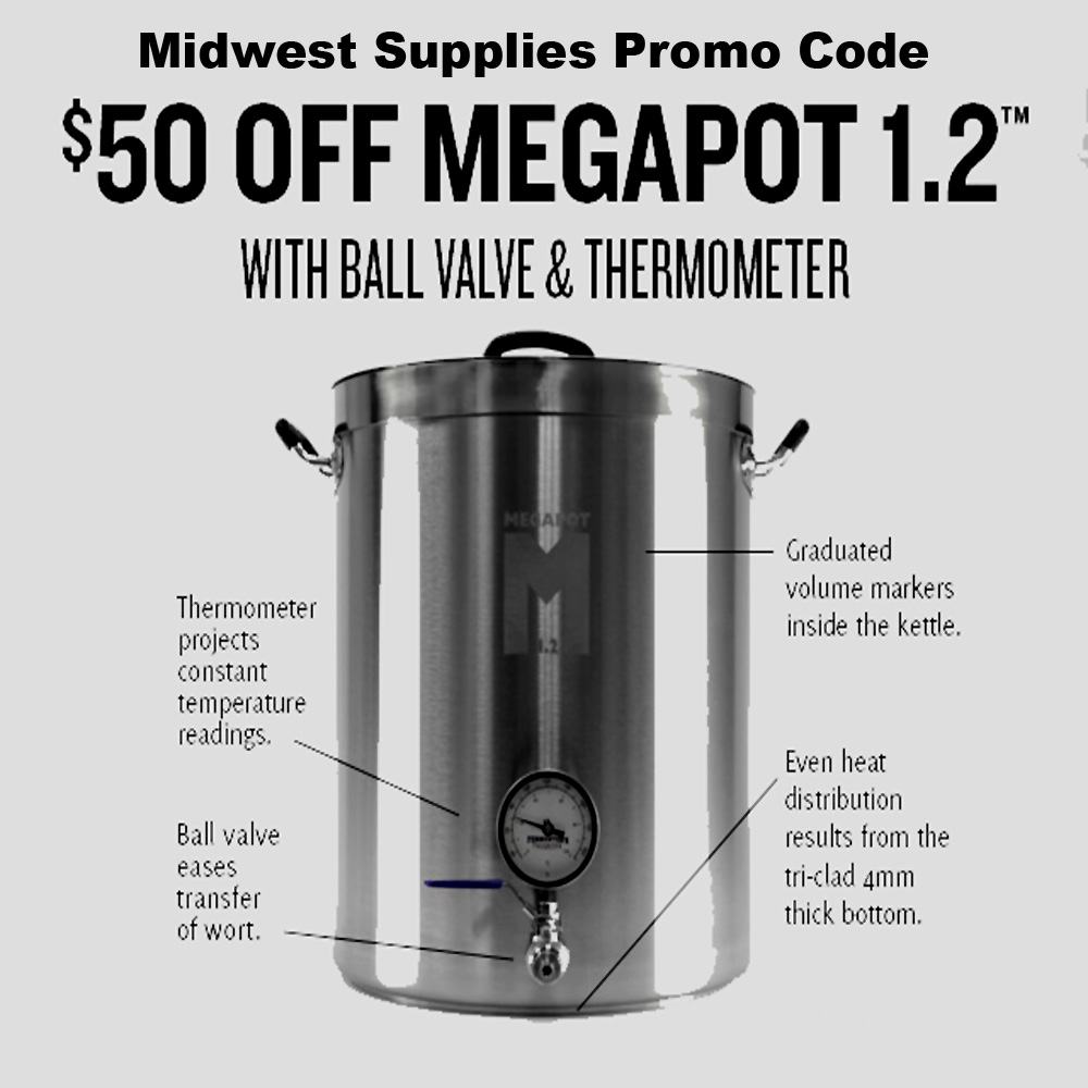 Coupon Code For Save $50 On A Fully Loaded Home Brewing Kettle Coupon Code