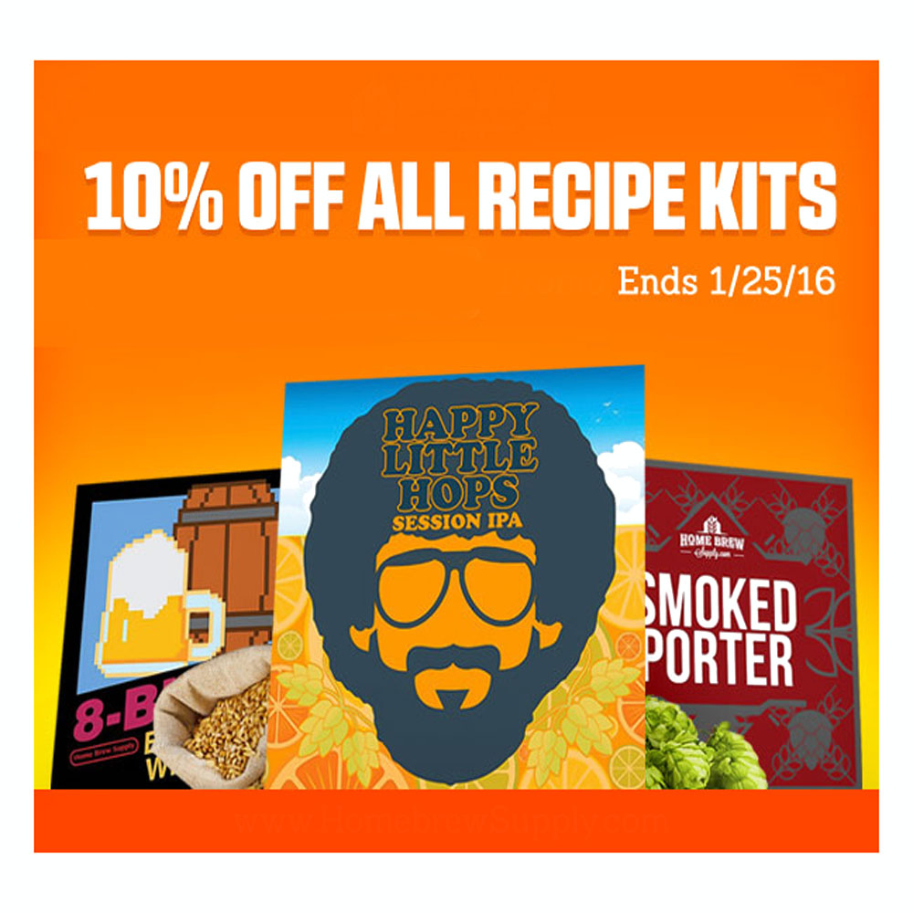 Promo Code For Save 10% On All Homebrew Recipe Kits Promo Codes