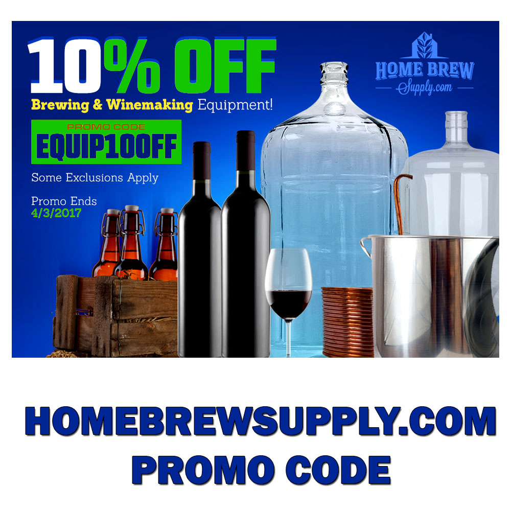 homebrew supply and coupon codes promo codes promotions and rebates. Black Bedroom Furniture Sets. Home Design Ideas