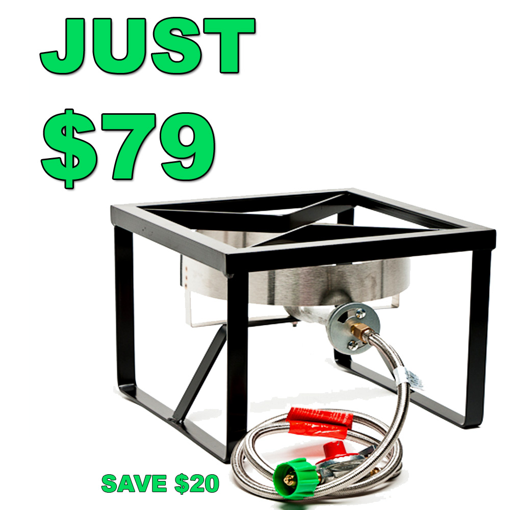 Sale For Save $20 On A Homebrewing Burner and Stand Sale