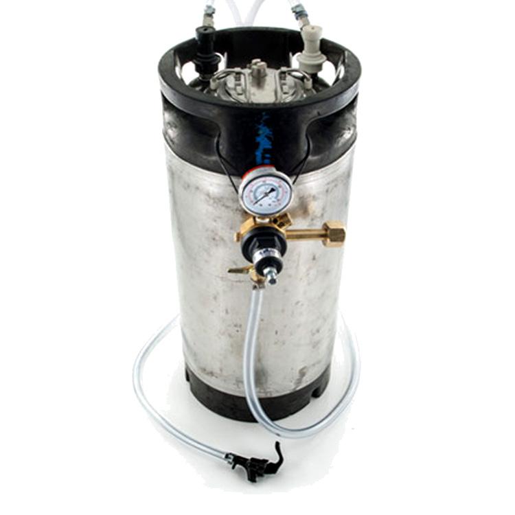 Sale For Homebrewing Keg System with Regulator for $99 Sale