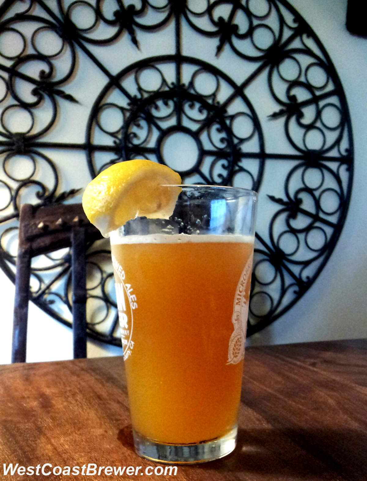 American Wheat Buckwheat Honey Hefeweizen