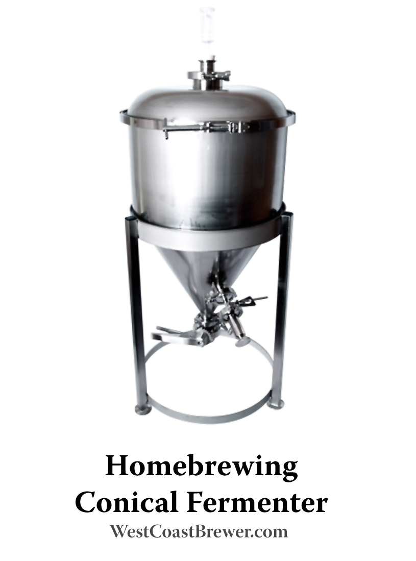 27 Gallon Homebrewing Conical Fermenter