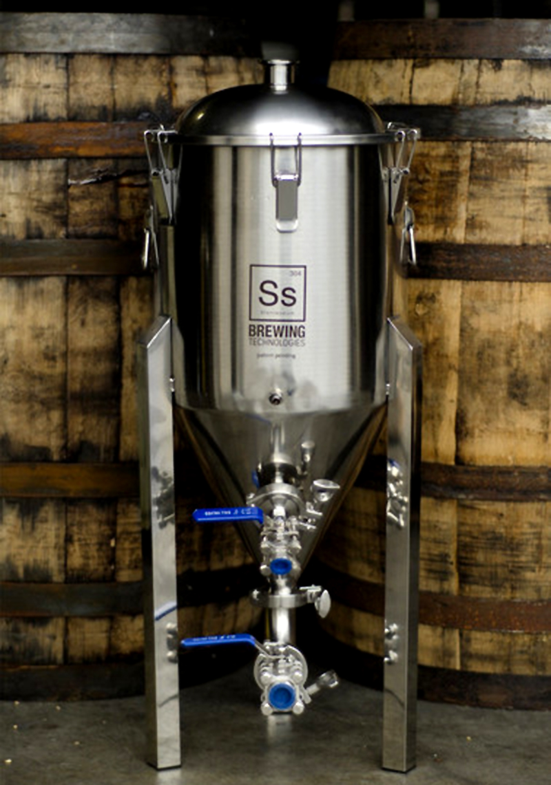 Stainless Steel 14 Gallon Conical Fermentor!