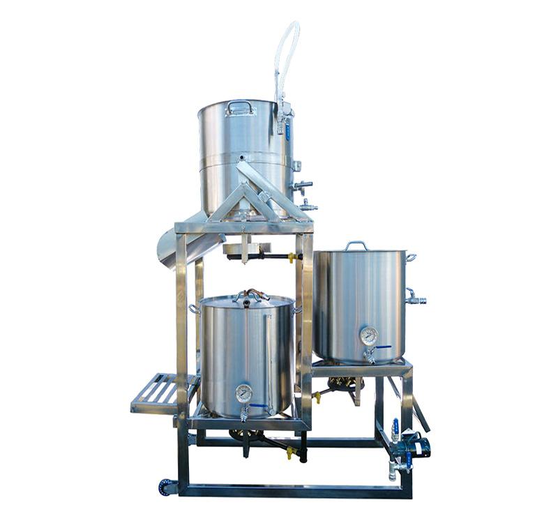 Stainless Steel 3 Tier Tippy Dump Brewing Rack