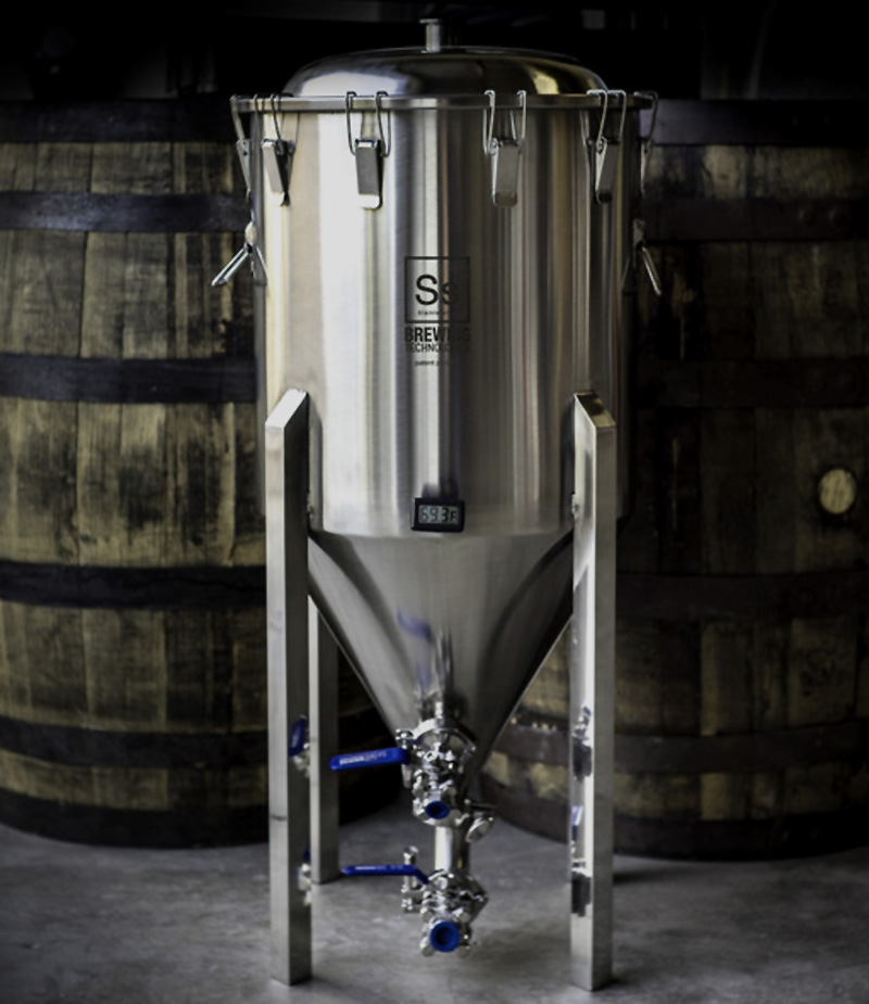 17 Gallon Stainless Steel Conical Fermenter