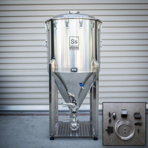 1 BBL Stainless Steel Conical Fermenter
