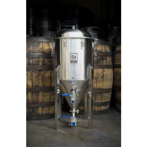 SS BrewTech 14 Gallon Stainless Steel Conical Fermenter