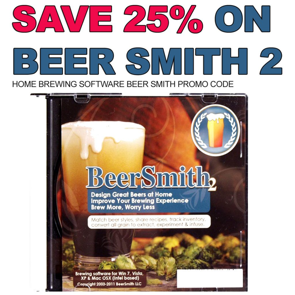 BeerSmith 2 Homebrewing Software Promo Code